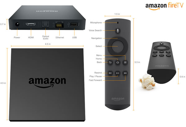「Amazon fire TV」
