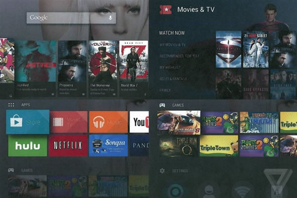 「Android TV」