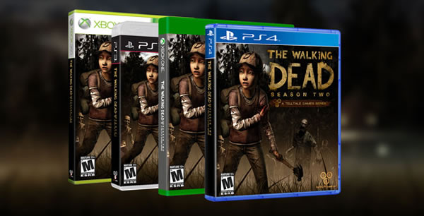 「The Wolf Among Us」「The Walking Dead」