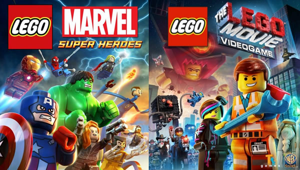 「LEGO Marvel Super Heroes」「The Lego Movie Videogame」