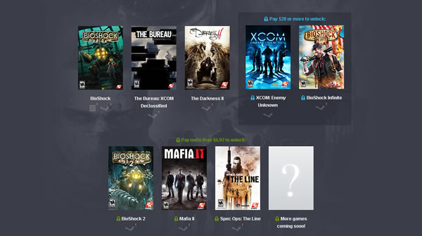 「Humble 2K Bundle」