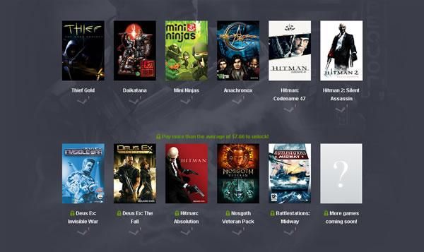 「Humble Square Enix Bundle」