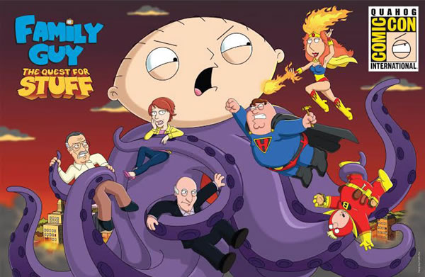 「Family Guy: The Quest for Stuff」