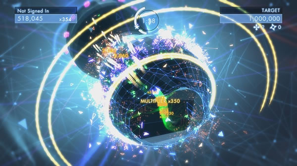 「Geometry Wars 3: Dimensions」