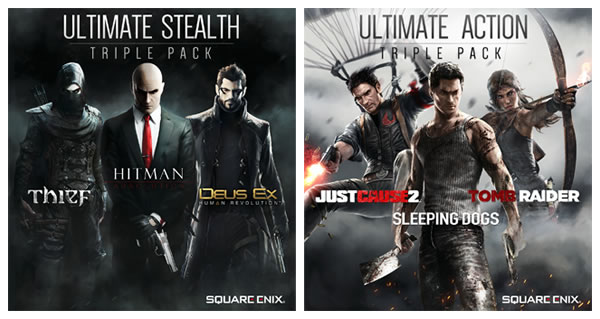 「Ultimate Stealth Triple Packs」「Ultimate Action Triple Packs」