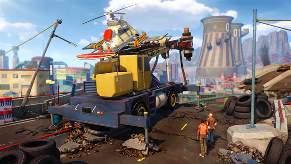 「Sunset Overdrive」