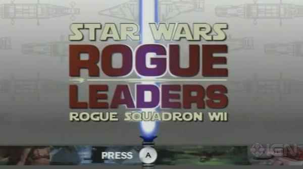 「Star Wars Rogue Squadron: Rogue Leaders」