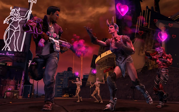 「Saints Row: Gat Out of Hell」