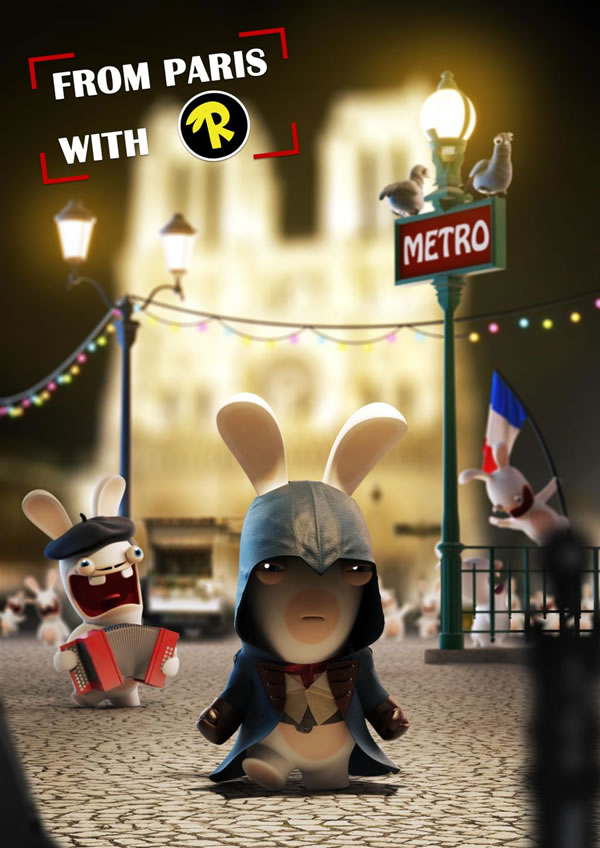 「Rabbids Invasion: The Interactive TV Show」