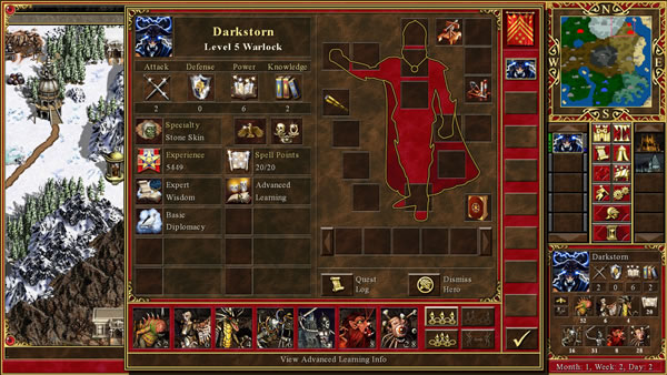 「Heroes of Might and Magic III」