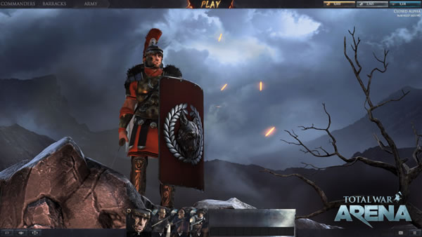 「Total War Arena」