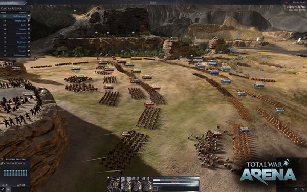 「Total War: Arena」