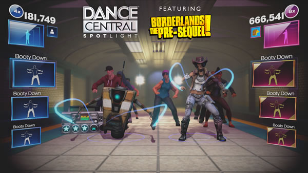 「Dance Central Spotlight」「Borderlands」