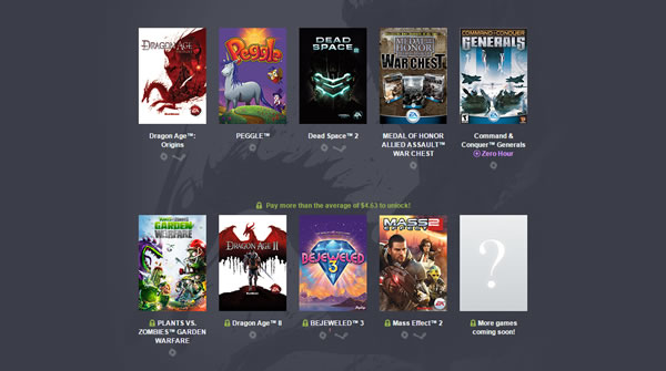 「Humble Origin Bundle 2」