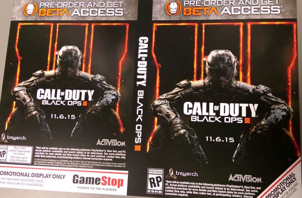 「Call of Duty: Black Ops 3」