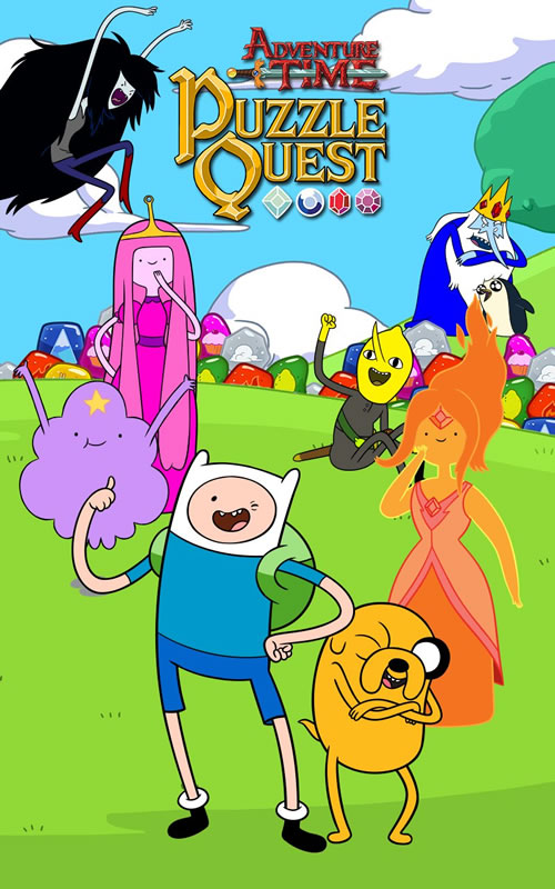 「Adventure Time Puzzle Quest」