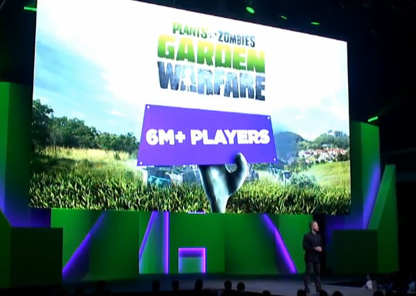 「Plants vs Zombies Garden Warfare 2」