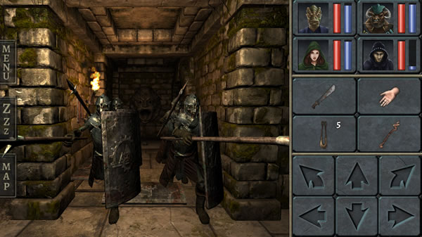 「Legend of Grimrock」