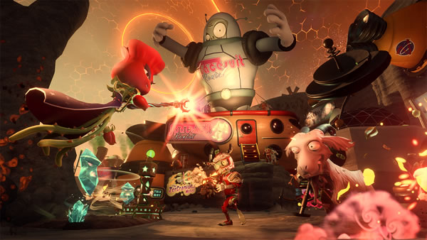 「Plants vs Zombies Garden Warfare 2 」