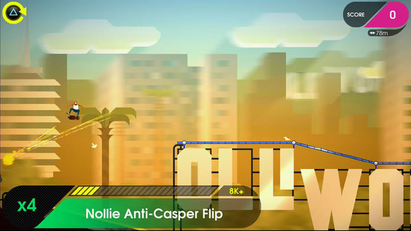 「OlliOlli 2: Welcome to Olliwood」