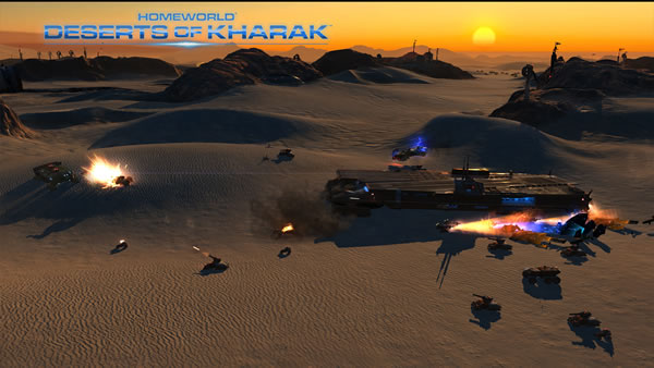 「Homeworld: Deserts of Kharak 」