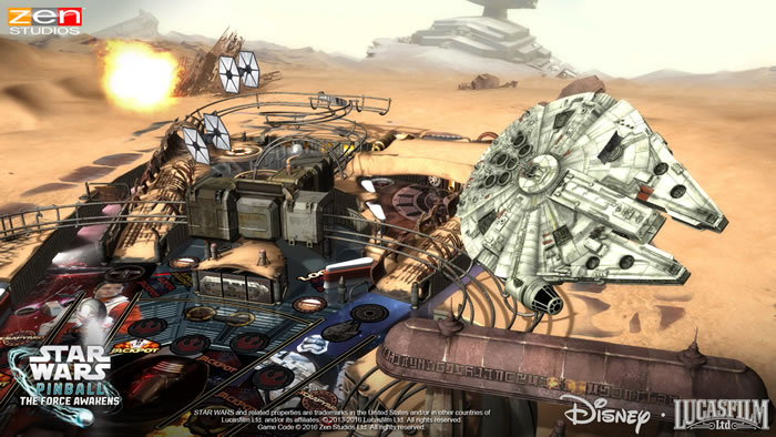 「Star Wars Pinball: The Force Awakens」