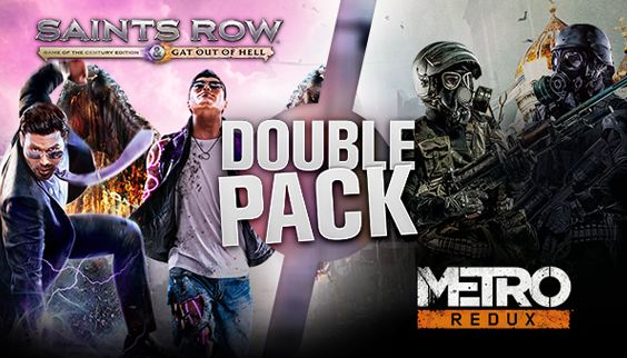 「Saints Row Metro Double Pack」
