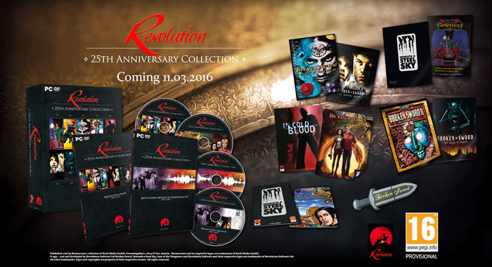 「Revolution: the 25th Anniversary Collection」
