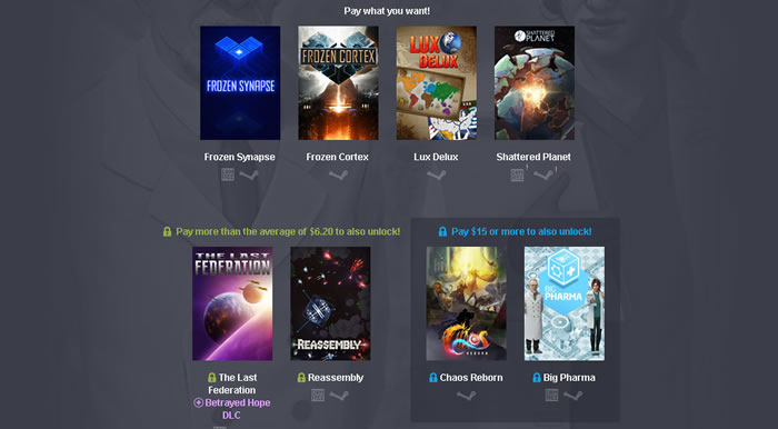 「Humble Weekly Bundle: Make Your Move」