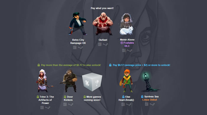 「Humble Indie Bundle 16」
