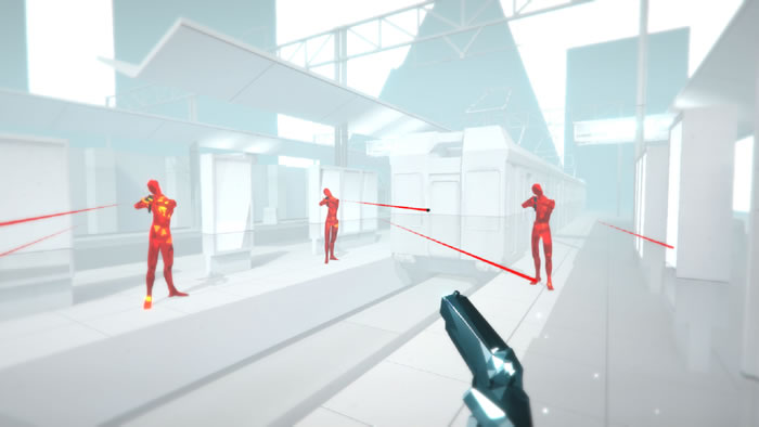 「SUPERHOT VR: Arcade Edition」