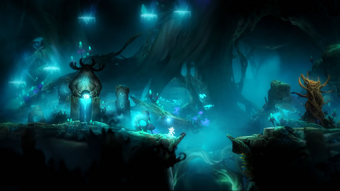 「Ori and the Blind Forest」