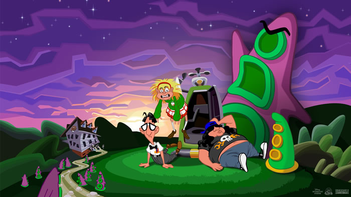 「Day of the Tentacle Remastered」