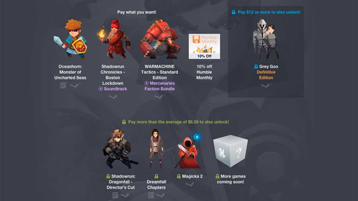 「Humble Jumbo Bundle 6」