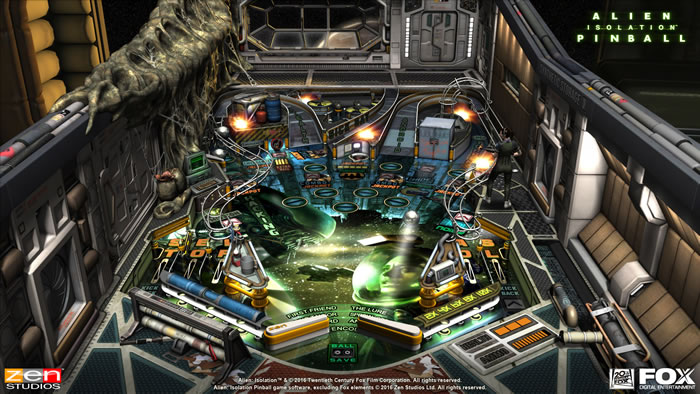 「Aliens vs. Pinball」