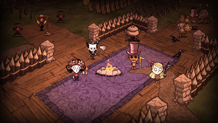 「Don't Starve」