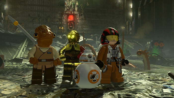 「LEGO Star Wars: The Force Awakens」「LEGO スター・ウォーズ/フォースの覚醒」
