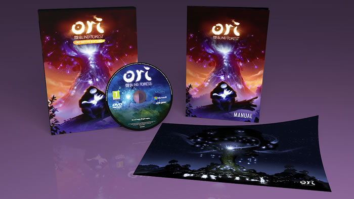 「Ori and the Blind Forest: Definitive Edition」「オリとくらやみの森」