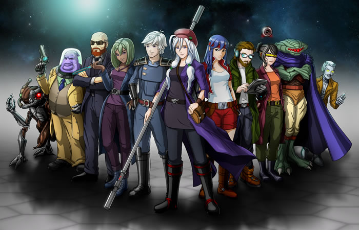 「Cosmic Star Heroine」