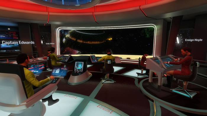 「Star Trek: Bridge Crew」