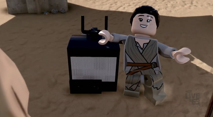 「LEGO STAR WARS THE FORCE AWAKENS」