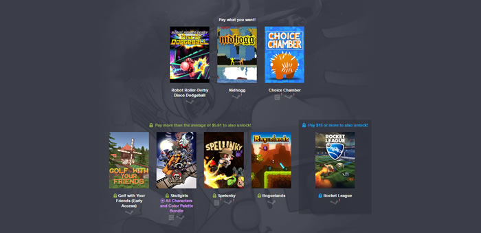 「Humble Bundle Revelmode」