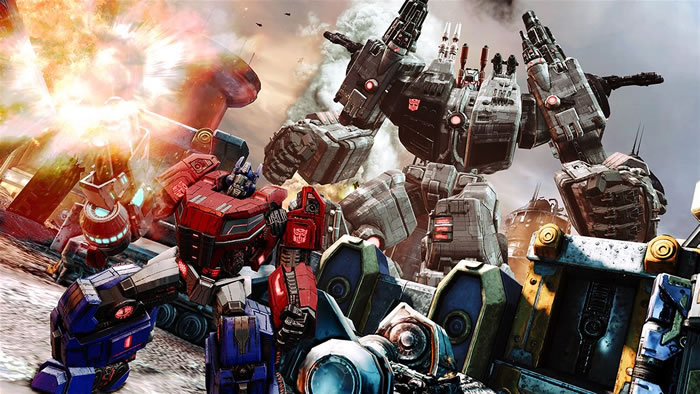 「 Transformers Fall of Cybertron」