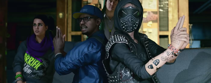 「 Watch Dogs 2」