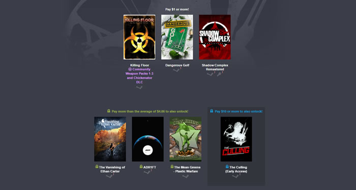 「Humble Unreal Engine Bundle」