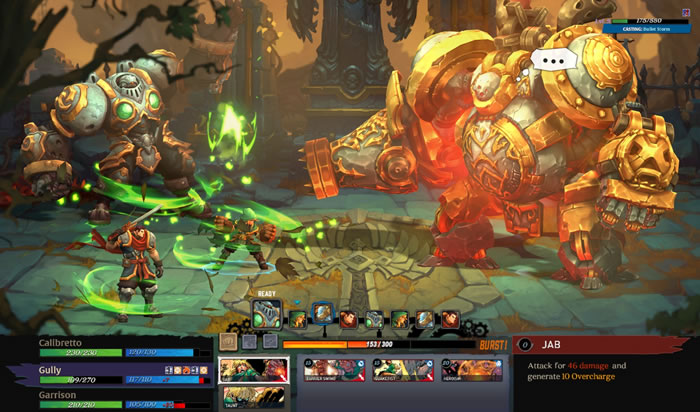 「Battle Chasers: Nightwar」