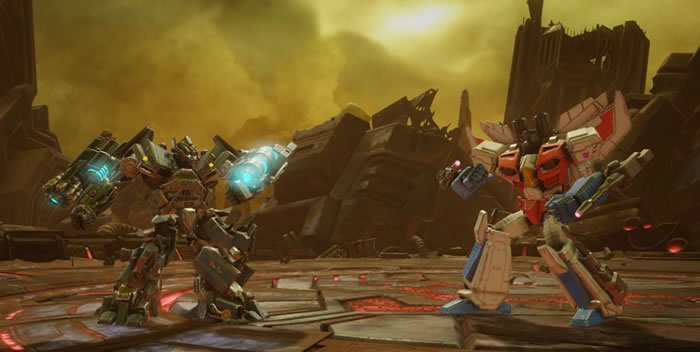 「Transformers: Forged to Fight」