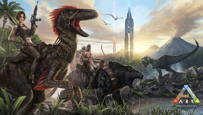 「ARK:Survival Evolved」