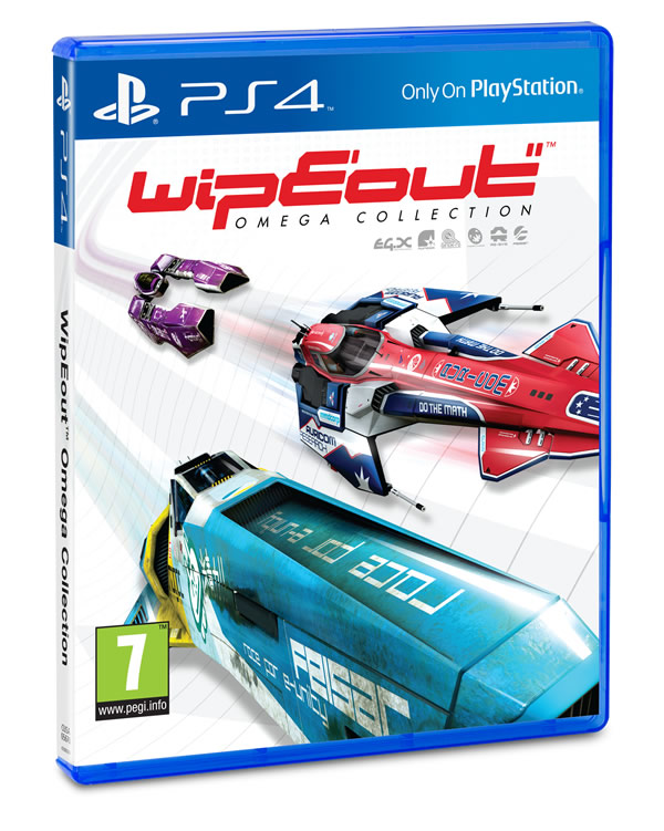 「Wipeout Omega Collection」
