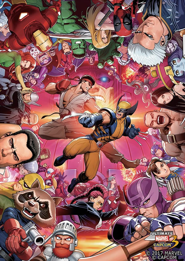 「Marvel vs Capcom 3」
